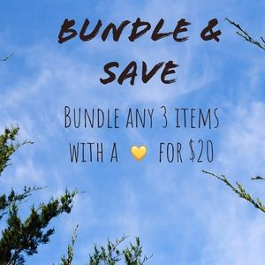 3 💛 for $20